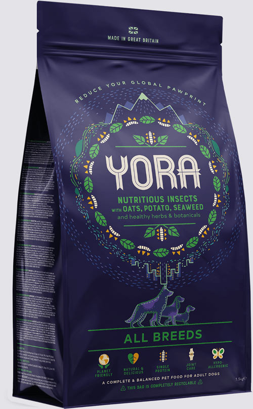 Yora new 100% recyclable paper packaging