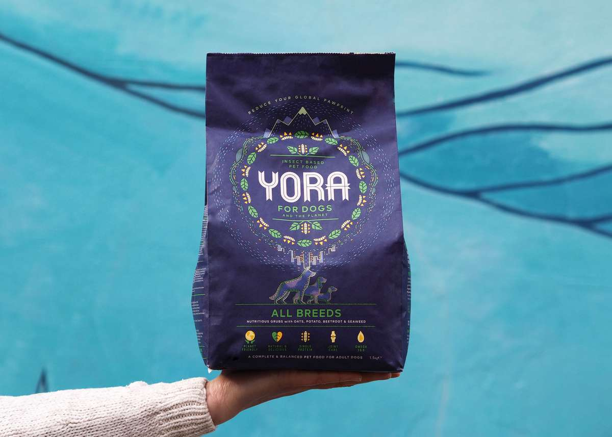 Bag of Yora Pet Food